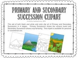 Primary And Secondary Succession Venn Diagram Primary And Secondary Succession Clipart Science Graphics For