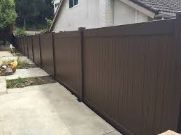 brown vinyl fence panels. Brown Vinyl Fencing Picket Fence Panels \u2014 BITDIGEST Design : Types Of