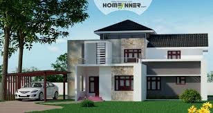 Small Picture Attractive Fusion Style Indian Villa Design in 2439 sqft