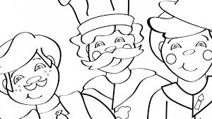 Small Picture Three Men in a Tub Coloring Page Mother Goose Club Mother