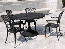 dining room sets from iron outdoor dining table with small round black wrought iron patio