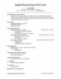New Nursing Graduate Resume New Resume Examples Under Fontanacountryinn Com