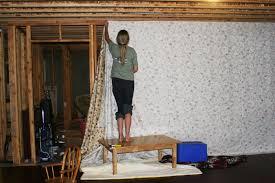 unfinished basement walls. Exellent Basement Image Of Diy Covering Unfinished Basement Walls With Fabric For