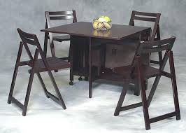 folding dining table with chairs excellent folding dining table chairs for savvy dark brown furniture for