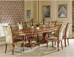 wooden dining room furniture. 0062 Italian Classic Dining Room Sets, Luxury Golden Wood Table And Chair Furniture Wooden