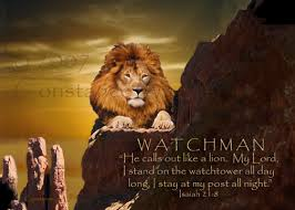 """volcano in watchmen watch the four carpenters """"son of man i have made thee a watchman unto the house of therefore hear the word at my mouth and give them warning from me """" ezekiel 3 17 kjv"""