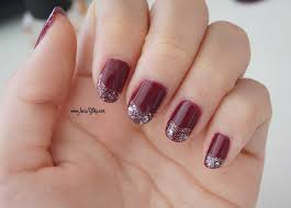 Nail Art Tutorial Glam Wine and Etude House Play Nails Review ...