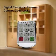 Kitchen Cabinet Door Locks Online Buy Wholesale Digital Door Lock From China Digital Door