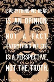 Marcus Aurelius Quotes Fascinating The Good Picture MARCUS AURELIUS QUOTE EVERYTHING WE HEAR