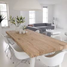 Modern Dining Table Custom Decor Bright Homes Wood Dining Tables