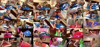 Lesbian dry tribbing baloon porn