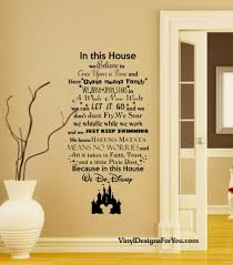 in this house we do disney wall decal mickey mouse vinyl art stickers il fullxfull