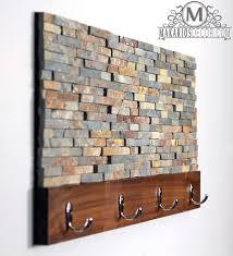 Coat Racks Wall Stacked Stone Coat Rack by Makarios Decor Coat Racks 80