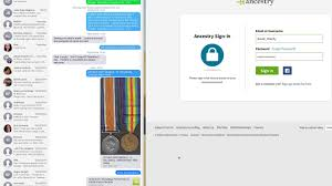 dmc guide to logging on to ancestry co uk if you are thea charity