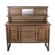 vintage teak furniture. Anglo Indian Bone Antique SideBoard Vintage Teak Furniture