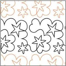 Free Continuous Line Quilting Patterns   Free Pantograph Patterns ... & Starry Dreams quilting pantograph pattern by Barbara Becker - Four Paws Adamdwight.com