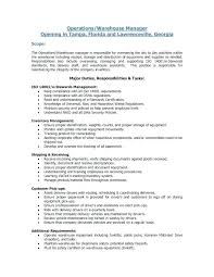 Logistics Manager Job Description Template Metabots Co
