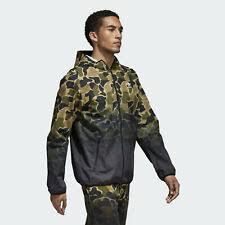 Adidas камуфляжная <b>ветровка</b> пальто и куртки для мужчин ...