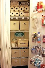 Bathroom Closet Organization Ideas Inspiration Bathroom Closet Organization Ideas Digitaldinerco