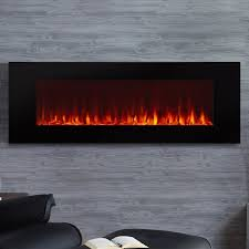 dinatale wall mounted electric fireplace
