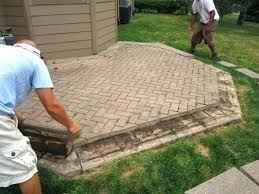 cost of patio pavers patio cost modern intended floor cost to replace concrete patio with pavers
