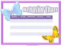 behavior charts for preschoolers template butterfly behavior charts for preschoolers template horneburg info