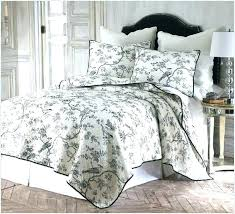 toille bedspreads black bedding and cream queen fresh marvelous bedspreads coverlets image of french toile bedspreads