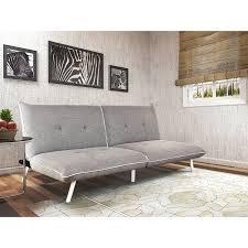 extra large futon.  Futon Mainstays GreyWhite ExtraLarge Futon With Contrast Piping In Extra Large Amazoncom