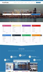 best wordpress directory themes for business listing sites and point finder business directory wp site theme