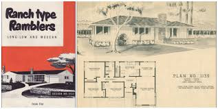 1950s house plans fresh unique 1950 ranch new home