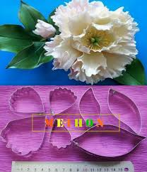 Paper Flower Cutting Tools Meihon Flower Cutter Fondant Cutting Die Mold Polymer Clay Tools