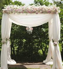 wedding arch decorations stylish ivory blush pink wedding ceremony arch chuppa decorations