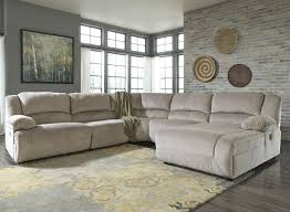 reclining sectional with chaise.  With Power Reclining Sectional With Right Press Back Chaise For With U