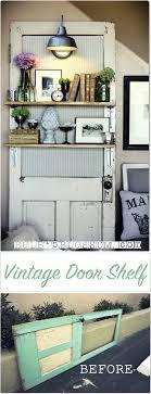 vine door lighted display shelf