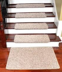 stair treads runners dean modern premium tape free pet friendly non skid carpet stair treads runner