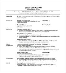 Bridge Design Engineer Sample Resume 7 Civil Engineer Resume Sample
