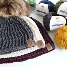 Modern Crochet Designs Crochet Modern Lines Beanie Mjs Off The Hook Designs