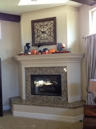 awesome ideas fireplace raised hearth 15 should the mantel match