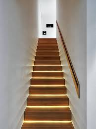 view in gallery lighting at the base of each stepled strip stair recessed led stairway