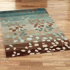 turquoise and brown kitchen rugs area outdoor rug chocolate bath modern geometric style green living room