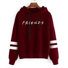 2021 <b>Friends Tv Show</b> Funny Cartoon Hoodies Women Best <b>Friends</b> ...