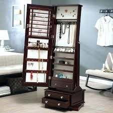 armoires diy jewelry armoire best mirror jewelry ideas on jewelry full length mirror jewelry cabinet