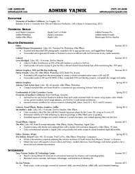 resume for production