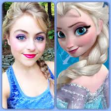 elsa and anna video disney s elsa makeup tutorial