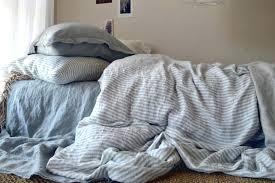blue striped duvet cover interior navy white striped duvet cover cotton quilt set light blue and