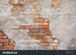 Brick Wall Crumbling Decay Stock Photo 62483920 Shutterstock