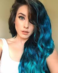 Hair Styles Colorful Hair Blue Hair