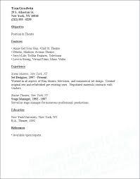 cover letter description sample stage manager cover letter stage manager cover letter job