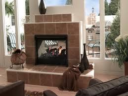 two way fireplace indoor outdoor
