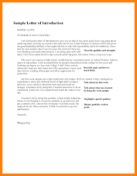 7 How To Write A Letter Of Introduction Riobrazil Blog
